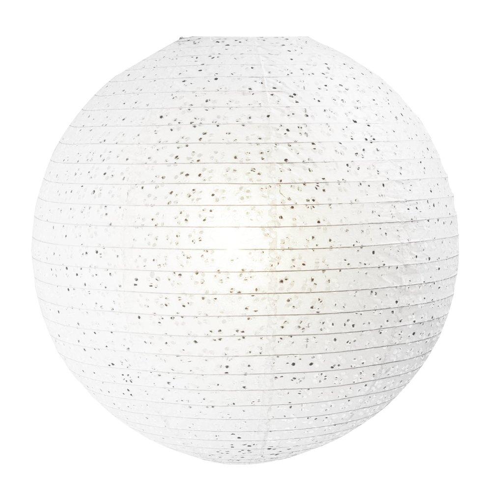 Lampada Paralume carta di riso 50 diametro completo con cavo