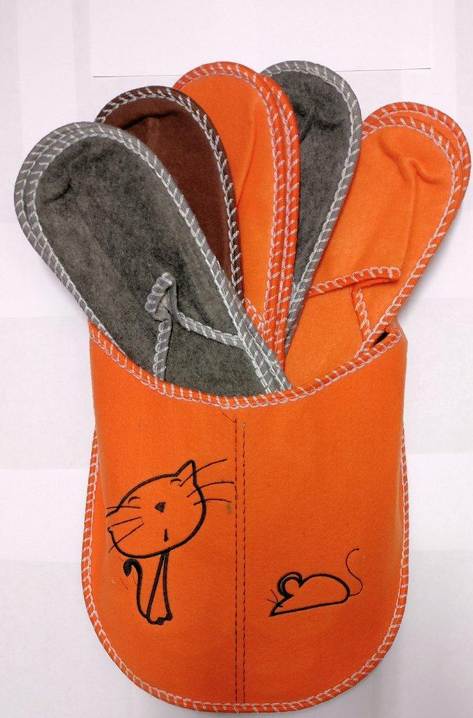 2019 originale immagini dettagliate vendita online Pantofole tirolesi feltro 5 paia - compra online Rosi Store