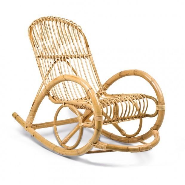 Sedia a dondolo bambu riposo compra online rosi store - Ikea sedie a dondolo ...