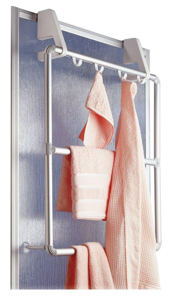 Porta asciugamani vestiti da parete compra online rosi store - Porta accappatoio da doccia ...