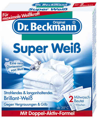 Super bianco additivo Dr Beckmann