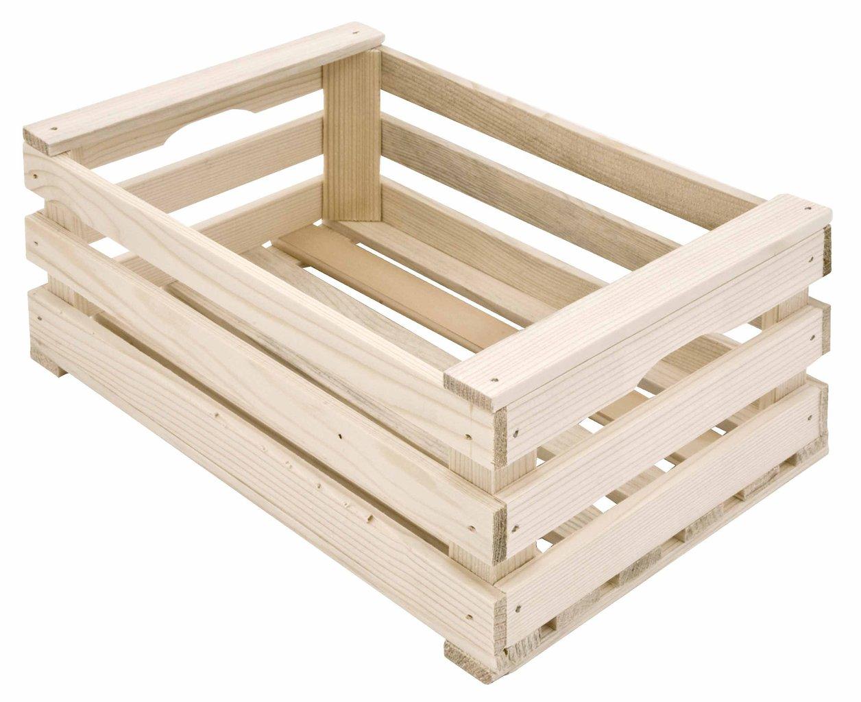 Cassetta in legno 25x17x11 h compra online rosi store for Bancone in legno fai da te