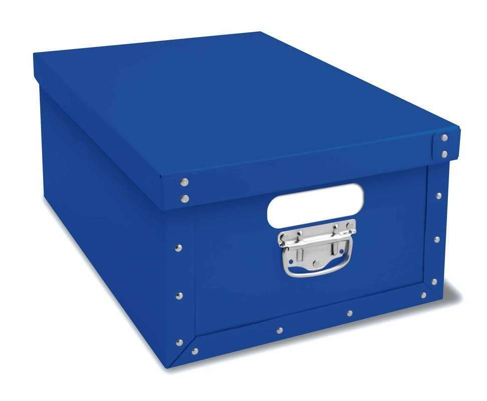 Original baule blue evoluzione rosi store by kompatscher for Scatole per armadi